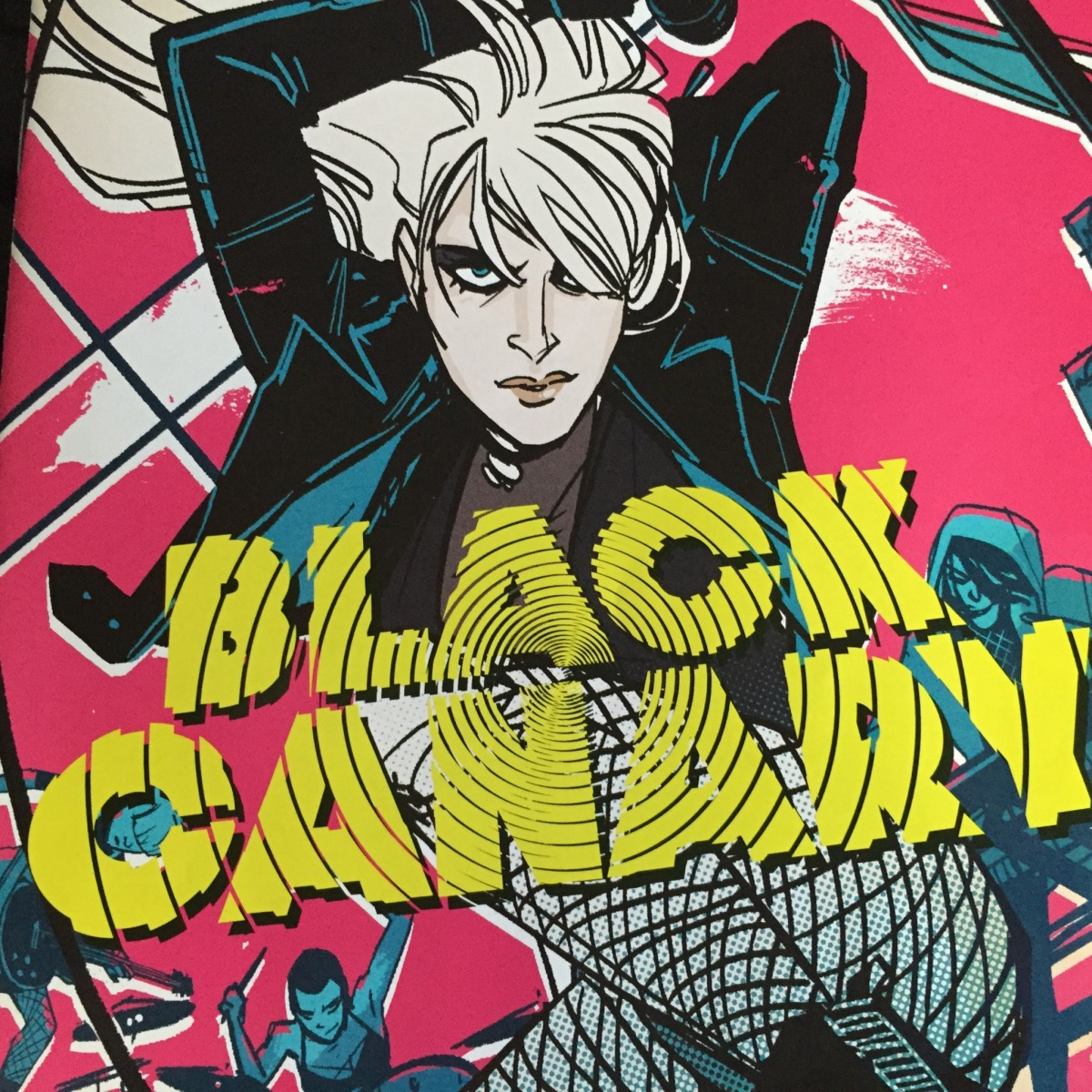 Weekly Comic Review: Black Canary #1
